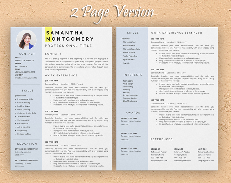 veterinarian resume template
